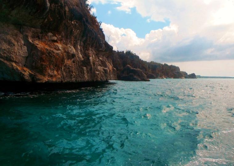 The coast on the way to Bahia de las Aguilas