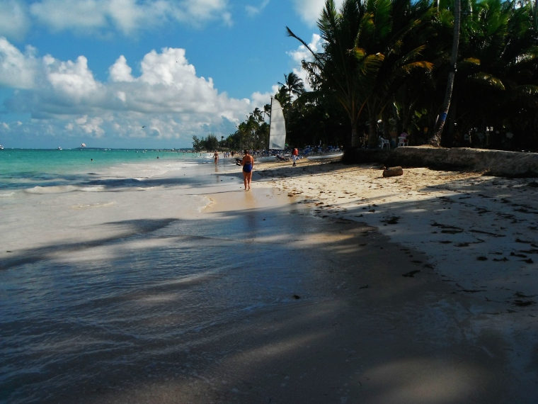 The beach at Bavaro.