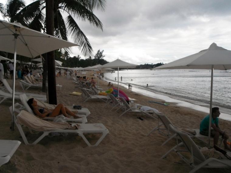 The beach at Casa de Campo