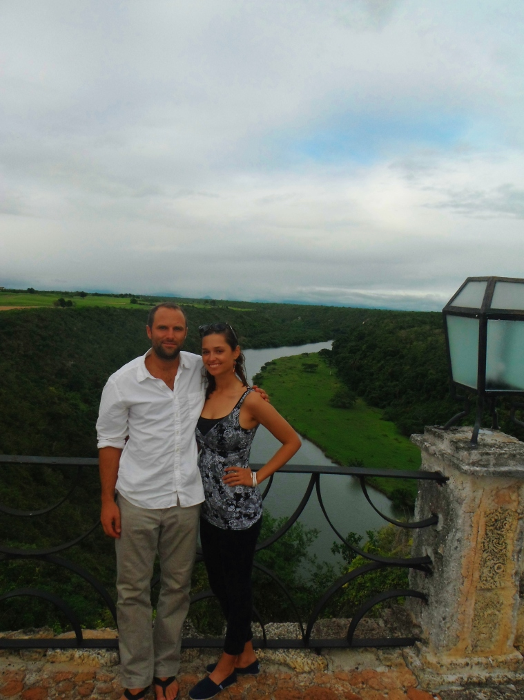 A & I overlooking the Chavon River