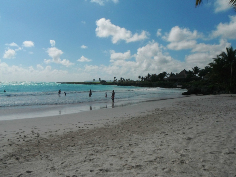 The exclusive beach at Cap Cana
