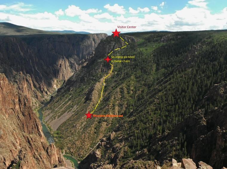Gunnison Route Map