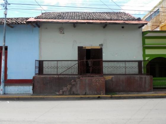 My house on Calle Santa Lucia in Granada, Nicaragua
